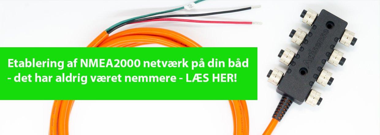 A2K-SBN-2 Actisense NMEA2000 netværk